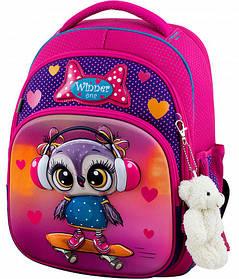 Ранець шкільний ортопедичний для дівчаток Winner One 7002 Віннер рюкзаки
