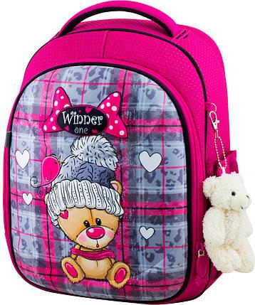Ранец школьный ортопедический для девочек Winner One 6013 Виннер рюкзаки, фото 2