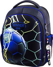 Ранець шкільний ортопедичний для хлопчиків Winner One 6017 Віннер рюкзаки
