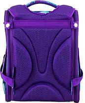 Рюкзак ортопедический для девочек Winner 2044 + брелок мишка, фото 3