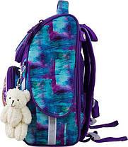 Рюкзак ортопедический для девочек Winner 2044 + брелок мишка, фото 2