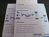 Конвертер (AV) RCA \ CVBS на HDMI тюльпан, адаптер відео зі звуком 1080P, фото 4