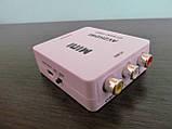 Конвертер (AV) RCA \ CVBS на HDMI тюльпан, адаптер відео зі звуком 1080P, фото 7