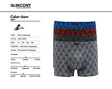 Мужские стрейчевые боксеры бренда IN.INCONT Арт.9096, фото 2