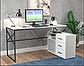 Белый компьютерный стол Джуниор, фото 2