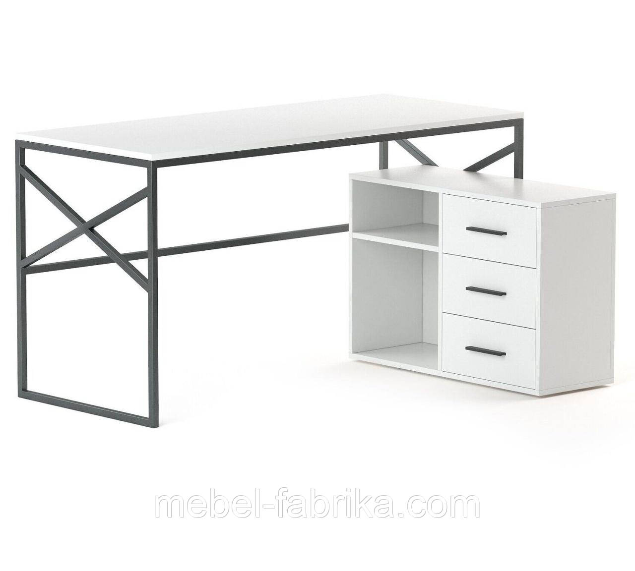 Белый компьютерный стол Джуниор