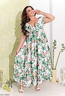 Платье макси шелк Армани 48-54