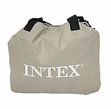 Двуспальная надувная кровать Intex 64926 (152 x 203 x 46 см) PremAire Airbed + Встроенный электронасос 220В, фото 4