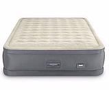 Двуспальная надувная кровать Intex 64926 (152 x 203 x 46 см) PremAire Airbed + Встроенный электронасос 220В, фото 2