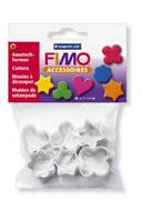 Форменные резаки,FIMO,металлические, 6 форм