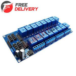 16-канальный модуль реле 5V для Arduino PIC ARM