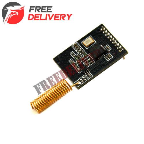 Радиомодуль SI4432 433МГц 1000м трансивер, Arduino