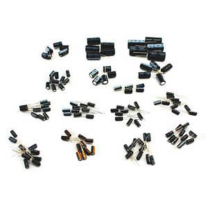 120x Конденсатор электролитический 1-2200мкФ 50В, набор