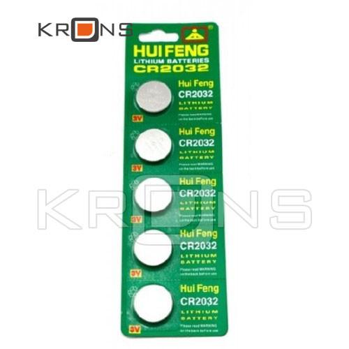 Батарейка 100шт таблетка CR2032, 5004LC L14, литий, малоемкостные