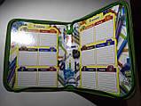 УЦЕНКА Папка для тетрадей В5+ на змейке для девочки и мальчика МОНСТИРКИ(для зошитів на блискавці А5), фото 3