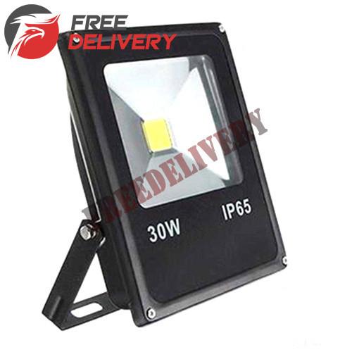 Прожектор светодиодный LED уличный, теплый белый 30Вт 2700лм 220В