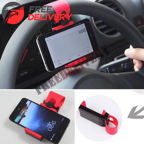 Автомобільний тримач на кермо для смартфона, GPS, плеєра