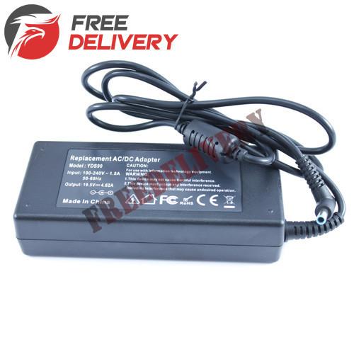 Блок питания адаптер для ноутбука HP 19.5В 4.62А 90Вт 4.5x3.0