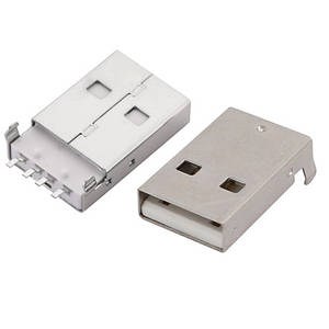 Коннектор роз'єм USB 2.0 тато 4pin AF 90 градусів SMT SMD