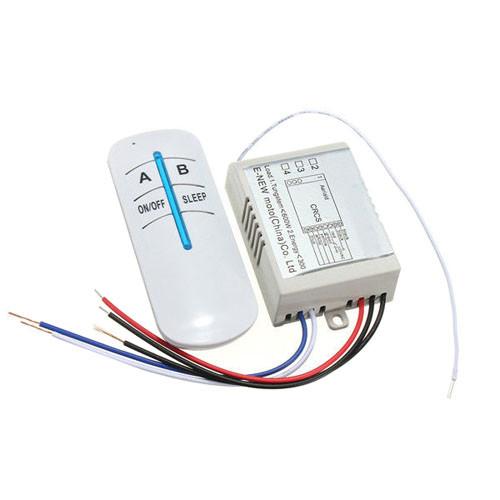 2-канал беспроводной выключатель освещения 220В