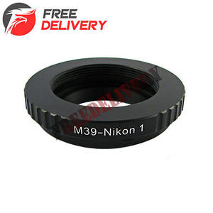 Адаптер переходник Leica L39 M39 - Nikon 1 J1 Ulata