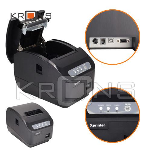 Термопринтер, POS, чековый принтер с автообрезкой Xprinter XP-Q200II 80мм