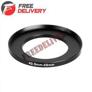 Повышающее степ кольцо 40.5-58мм для Canon, Nikon
