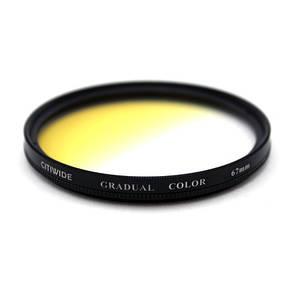 Цветной фильтр 67мм желтый градиент, CITIWIDE