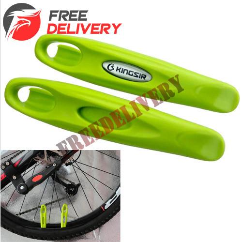 Бортировки, бортировочные лопатки для снятия покрышек велосипеда 2шт