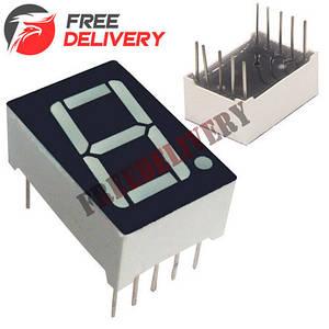 7-сегментный индикатор 0.56'' красный 10pin анод Arduino