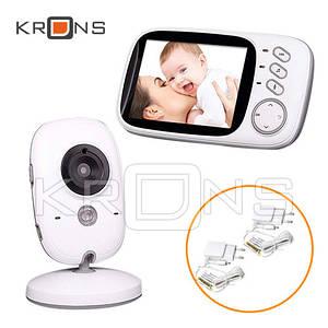 Видеоняня радионяня Baby Monitor VB603 ночное видение 3.2'' VOX