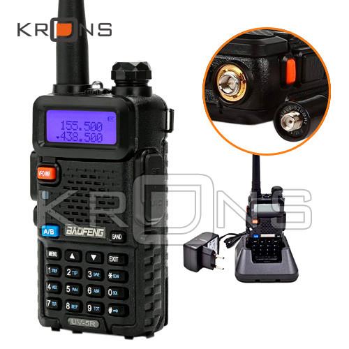 Рация Baofeng UV-5R 136-174 / 400-520 МГц, до 5 Вт