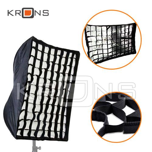 Софтбокс з сотами зонтичного типу 60х90 см