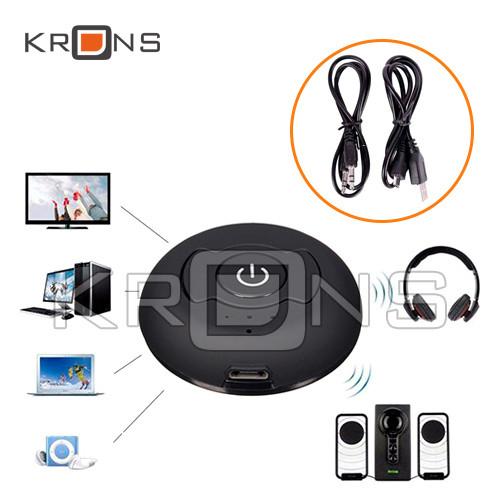 Аудіо трансмітер H-366T Bluetooth передавач звуку на 2 пристрої