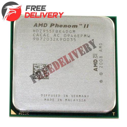 Процессор AMD Phenom II X4 955, 4 ядра 3.2ГГц, AM3