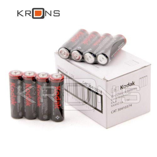 Батарейка 24шт AA LR6 Kodak, солевая