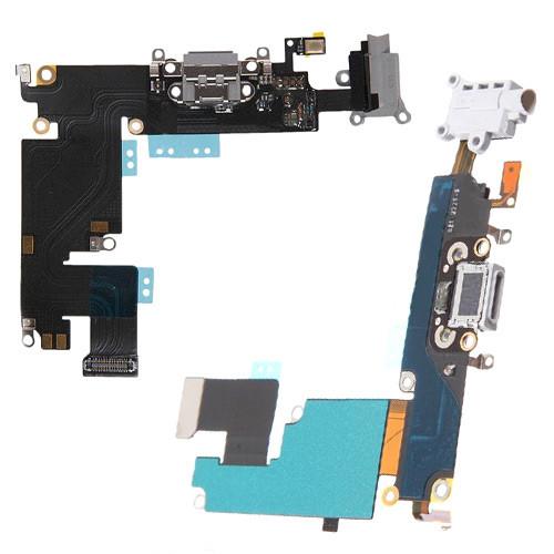Шлейф 821-2220-A Lightning, 3.5мм джек, микрофон для Apple Iphone 6+