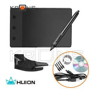Графический планшет с пером HUION H420 4x2.23'' кнопки