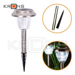 Садовый фонарь на солнечной батарее, уличный светильник 39см VK009