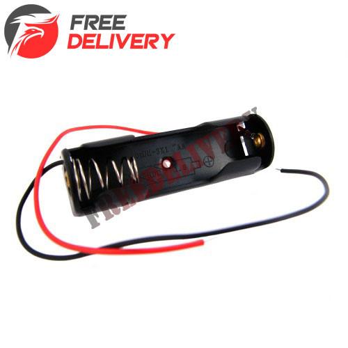 Бокс на 1 АА батарею, 1.5V кейс, питание Arduino