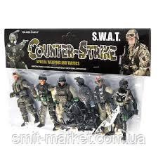 Набір солдатиків Counter-Strike CS CF SS05-2, фото 2
