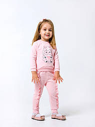Детский  свитшот  для девочки с милой овечкой ТМ СМИЛ 6-18 месяцев