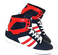 Мужская зимняя обувь k213 сине-красные