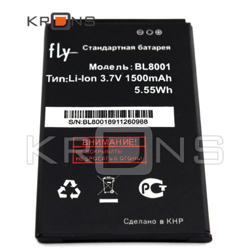 Батарея аккумулятор Fly BL8001 IQ4490 IQ436 ERA Nano 3 4