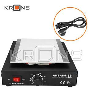 Нижний подогрев Отделитель Сепаратор LCD дисплея от тачскрина ANSAI 918B