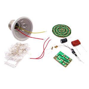 Конструктор LED лампа, лампочка 2.4Вт, СОБЕРИ САМ