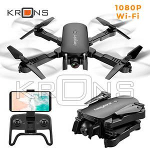 Квадрокоптер Дрон Wi-Fi 1080p 2 камеры складной SHAREFUNBAY R8