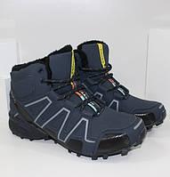 Мужская зимняя обувь - FBN8810 NA синий