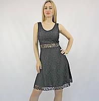Коктейльное нарядное черное платье-мини, кружевное, без рукава, на свадьбу, на выпускной, повседневное