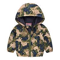 Куртка-ветровка для мальчика Хищные динозавры Jomake (90)